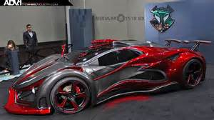 metal claws supercar made from metal foam inferno car adv