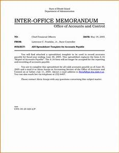 5 internal office memo format lease template With internal office memo template