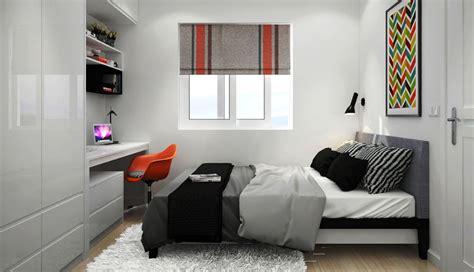 inspirasi  tips desain kamar tidur ukuran  sederhana