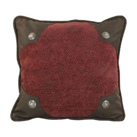 hiend accents wilderness ridge lodge scalloped pillow home