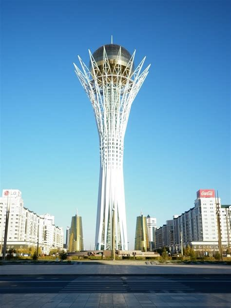 Panoramio - Photo of Bayterek Tower, Astana, Kazakhstan