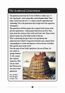 Biblical Hebrew Study Book- The Tower Of Babel