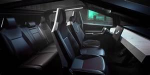 Cybertruck website (Tesla) interior 1 - TESLARATI