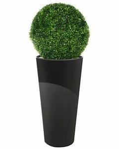 Buchsbaumkugel Künstlich 50cm : buchsbaumkugel hochtopf gl nzend k nstlich 120cm hoch ~ A.2002-acura-tl-radio.info Haus und Dekorationen