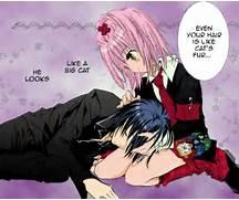 Ikuto and Amu by MoonF...
