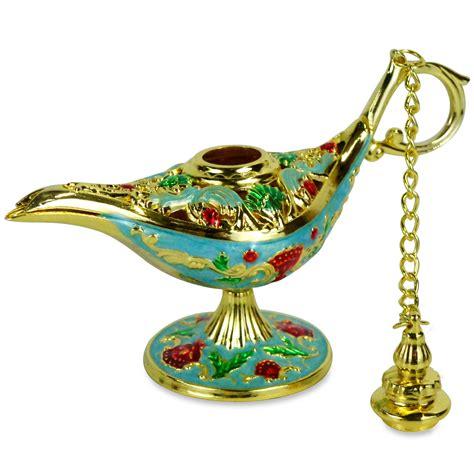 ornate aladdin magic genie l oil l incense burner