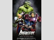 avengers disney marvel hybrid by lavrennom on DeviantArt