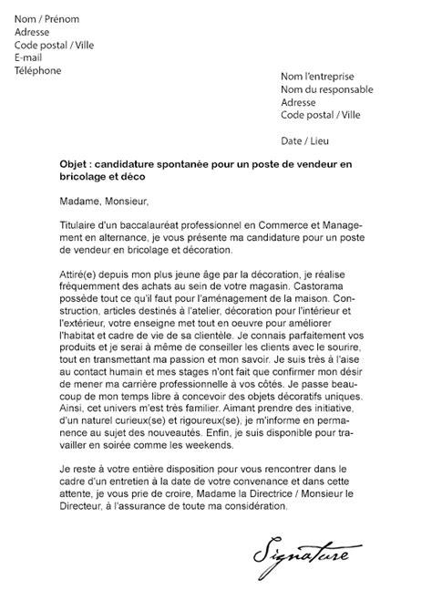 lettre de motivation chef de cuisine en restauration collective lettre de motivation castorama vendeur bricolage et