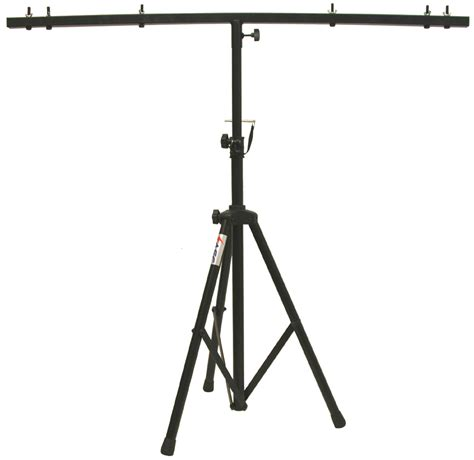 l on a stand pro audio dj adjustable tripod stand with top t bar for