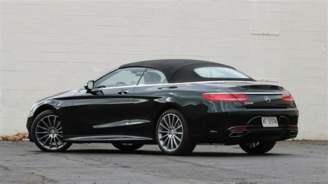 Ultimate comfort, even in a traffic jam. 2017 Mercedes-Benz S550 Cabriolet: Review - 1717803