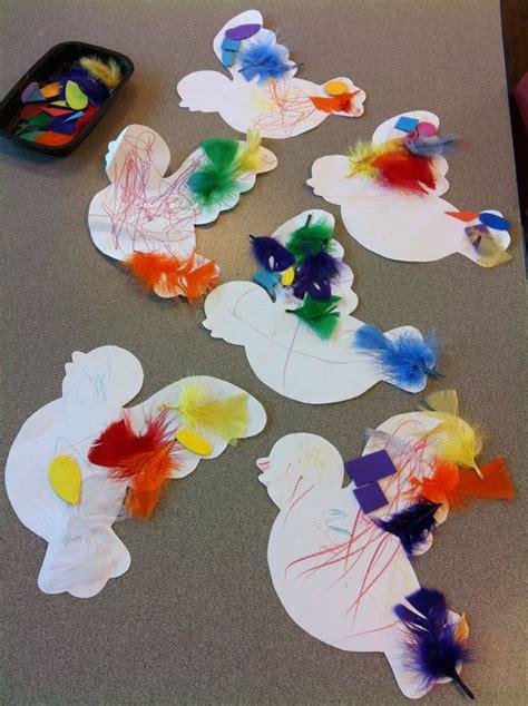 bird activity   feathers  decorate