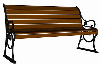 Bench Clipart Clip Wooden Porch Furniture Cliparts
