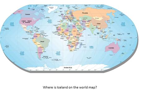 Where Is Iceland On The World Map?  Ppt Video Online Download