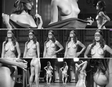 Maia Thomas Nue Dans Black And White And Sex