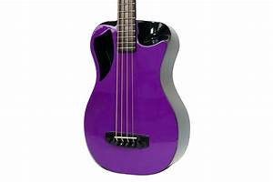 Carbon Fiber Electric Purple Top Travel Bass
