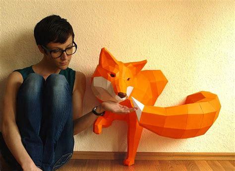 animales hechos  papel en  por wolfram kampffmeyer