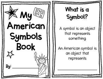 american symbols booklet  grade  sublime