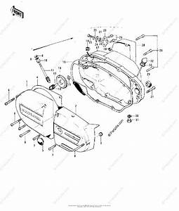 Kawasaki Motorcycle 1973 Oem Parts Diagram For Engine