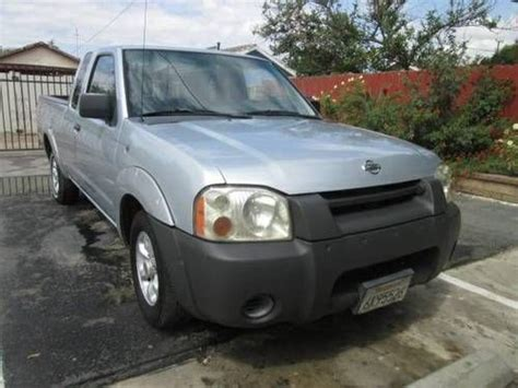 find used 2001 nissan frontier xe extended cab 2