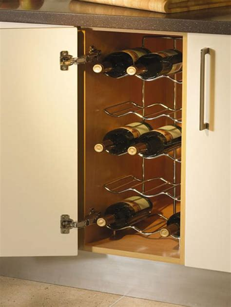chrome single wine rack  awesome  beautiful accessories rack kitchen design