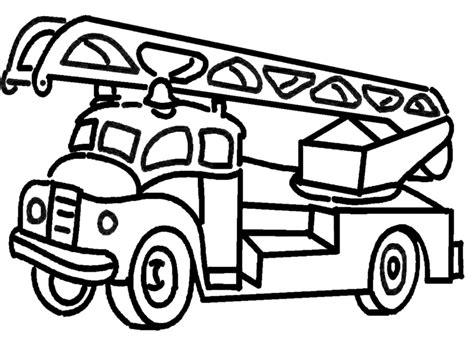 disegni da colorare camion dei pompieri sta disegno di camion dei pompieri da colorare