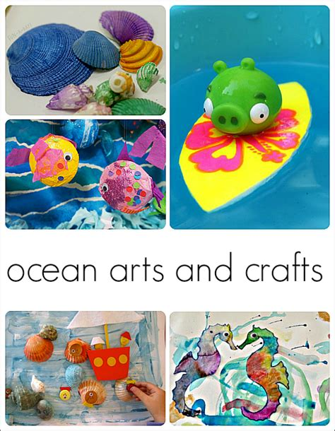 30 fantastic activities for a preschool theme 572 | preschool ocean theme arts and crafts 1