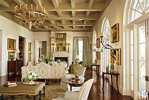 Traditional Living Room by Ann Holden AD DesignFile