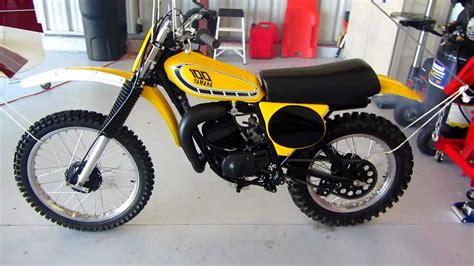 restored vintage motocross bikes for sale 1976 yamaha yz100 motocross restoration ahrma vintage