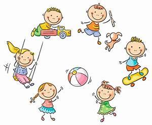 幼儿园玩耍卡通图片 - 图片大全