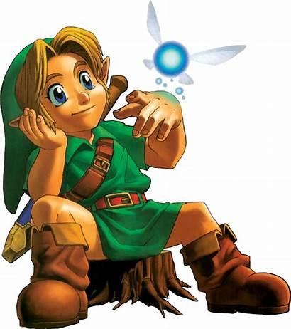 Link Ocarina Zelda Navi N64 Young Boss