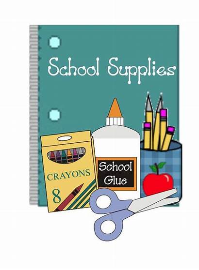 Supplies Poster Clipart Drive Classroom Supply Checklist