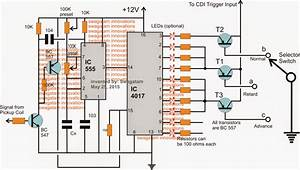 Adjustabe Cdi Spark Advance  Retard Circuit