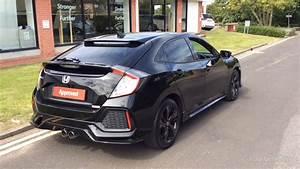 Honda Civic Sport Plus : honda civic vtec sport plus black 2017 youtube ~ Medecine-chirurgie-esthetiques.com Avis de Voitures