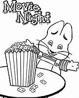 Popcorn Coloring Ruby Pages Max Bridges Kernel Printable Night Christmas Drawing Corn Candy Getcolorings Colorings Getdrawings Sheet Sheets sketch template