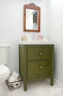 ikea bathroom vanity update on the update the golden