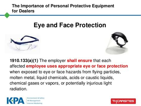 The Importance Of Personal Protective Equipment (ppe) For