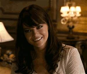 Reaction gif tagged with oh you, Emma Stone, Zombieland