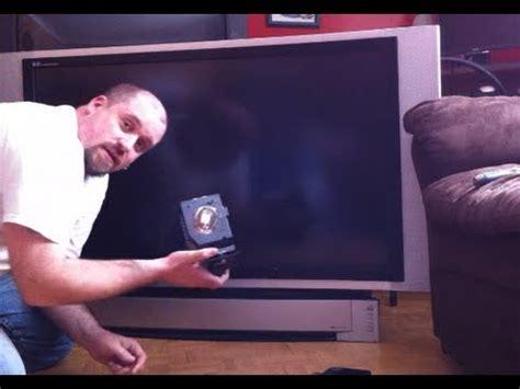 panasonic dlp tv repair   tv youtube