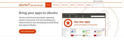 announcing  ubuntu app developer site