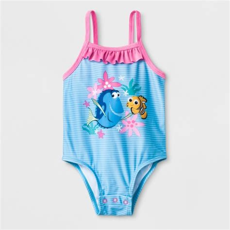 baby girls disney finding nemo  piece swimsuit