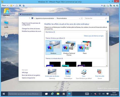 changer icone bureau windows 10 insider preview installation aidewindows