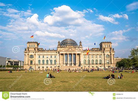 siege du parlement le bâtiment de reichstag le siège du parlement allemand