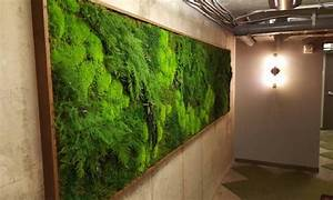 The perfect green wall art for your home or business for Interior design grass wall