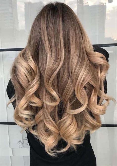 coloration les  ombres hair blond tendances
