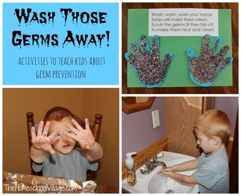 wash those germs away the homeschool 383 | germprevention 600x490