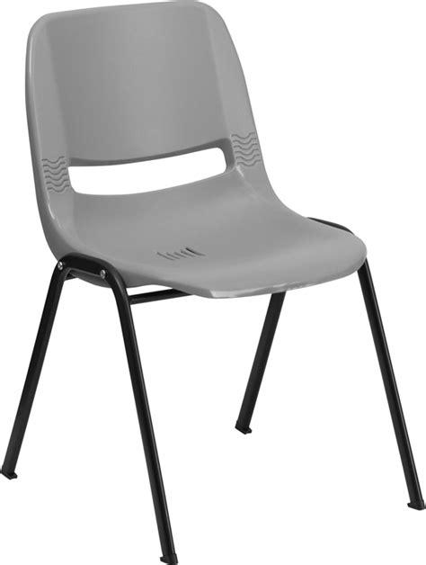 Hercules Series Stack Chairs by Hercules Series 880 Lb Capacity Gray Ergonomic Shell