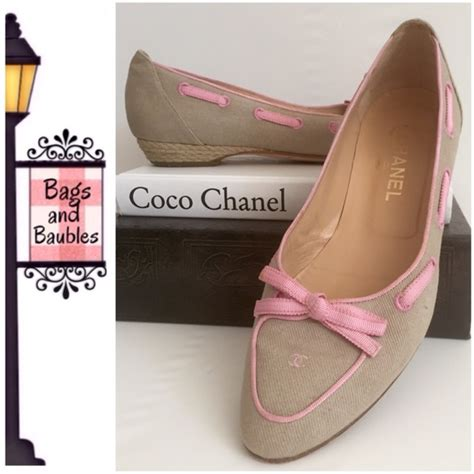 Boat Canvas Edging by Chanel Chanel Canvas Boat Shoes Size 39 From S