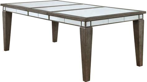 extendable rectangular dining table sturgis dark gray extendable rectangular dining table
