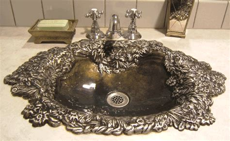 Elite Bath Bathroom Sinks Bronze-bella Flor Bf Bronze