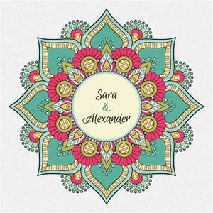 Indian wedding invitation vector free download for Hindu wedding invitations vector